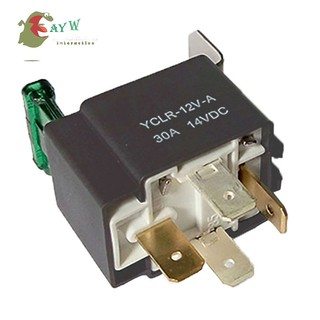 AYW♘ 12V 30A Amp 4 Pin 4P Relay Automotive Harness Car Automation