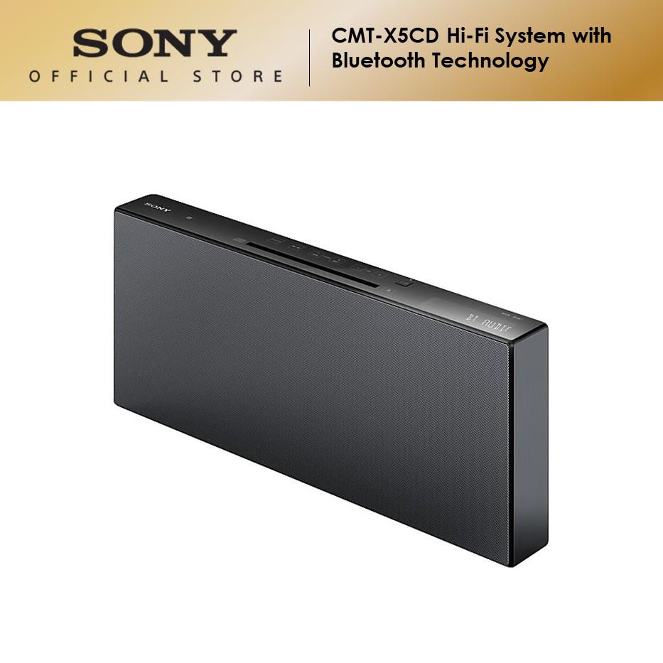 Sony CMT-X5CD Hi-Fi System with BLUETOOTH® Technology