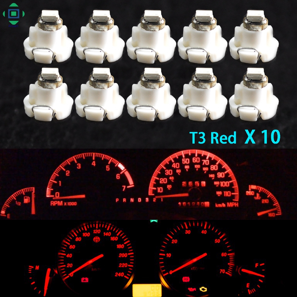 New T4 Neo Wedge Climate Base Cluster Instrument Dash Bulbs LED Light Lamp White