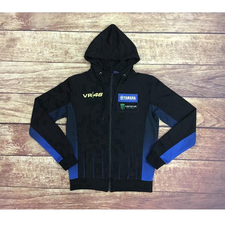 2019 Hot YAMAHA motorcycle Hoodie Men Jacket Full Sweatshirts warm Coat