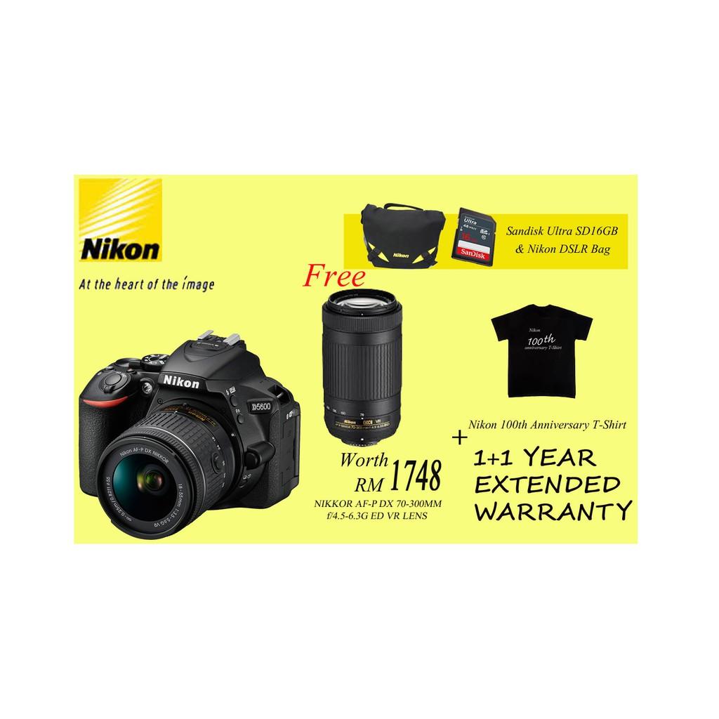 Harga Nikon D5600 Dslr Camera And 18 55mm Lens Kit Book For