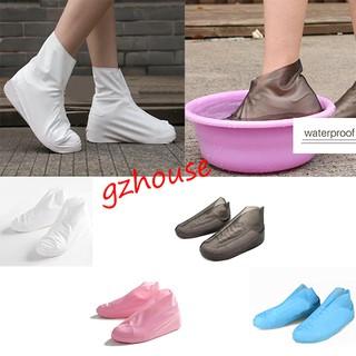 US 1Pair Reusable TPU Shoe Cover Slip-resistant Child Adult Rain Boots Wholesale