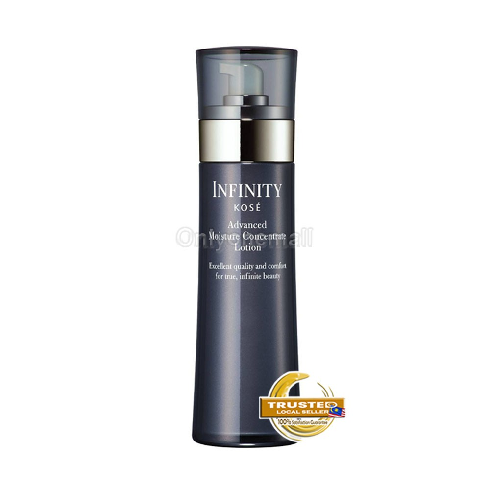 KOSE Infinity Kose Advance Moisture Concentrate Lotion 160ml FREE Sample Gift