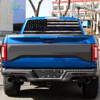📢hik📢American Flag Car Rear Window Graphic Sticker