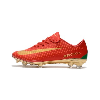 newest 015ff c2a2a Nike Mercurial Vapor XI FG red gold CR7 mens low sport ...