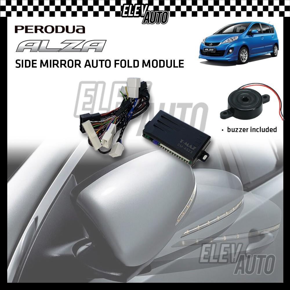 Side Mirror Auto Fold with Buzzer Perodua Alza