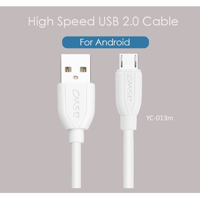 ASWO High Speed USB 2.0 Charging & Data Transfer Cable (1 Meter)