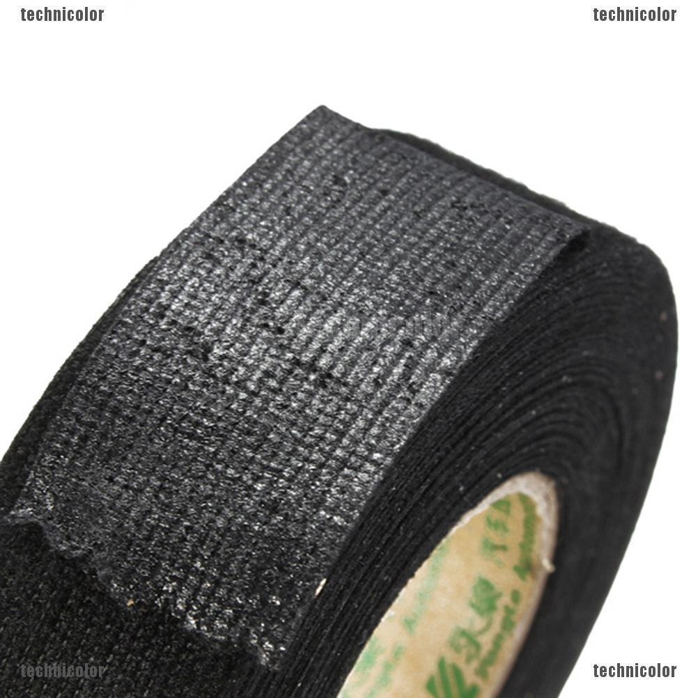 25mmx15m Coroplast Adhesive Cloth Tape For Harness Wiring Loom Car on