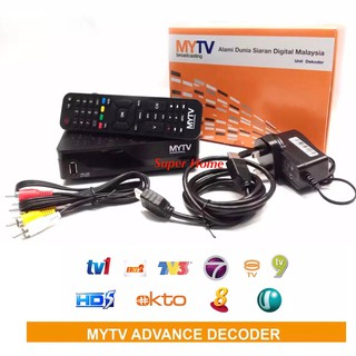 MYTV Broadcasting Advance Decoder IR9410 | Shopee Malaysia