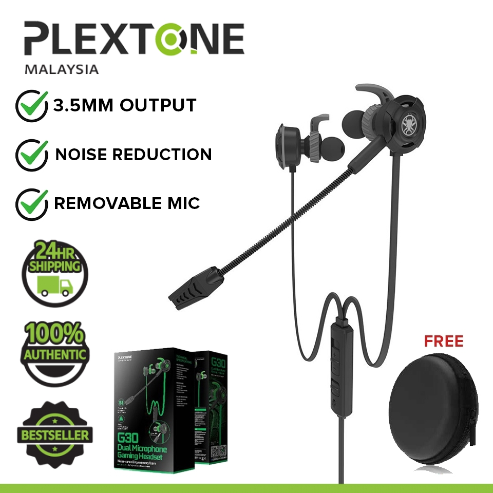 PLEXTONE G30 In-ear Gaming Stereo Headphones With Mic