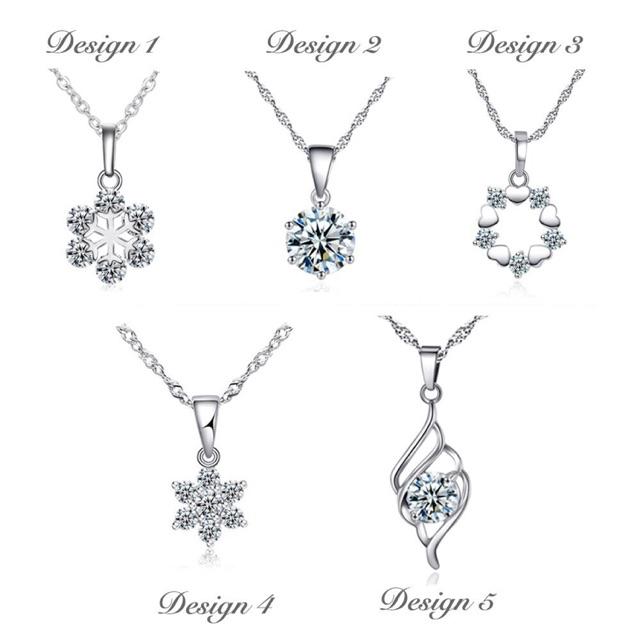 30e49f305 European and American multi - storey diamond necklace | Shopee Malaysia