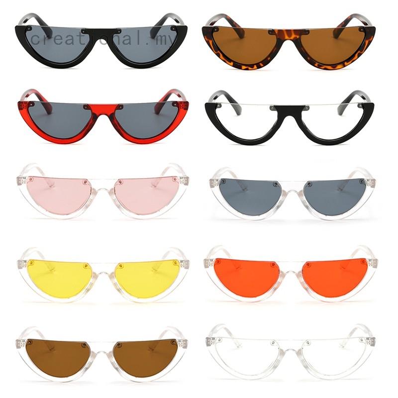 Women Cat Eye Sunglasses Retro Classic Designer Vintage Fashion Shades Eyewear