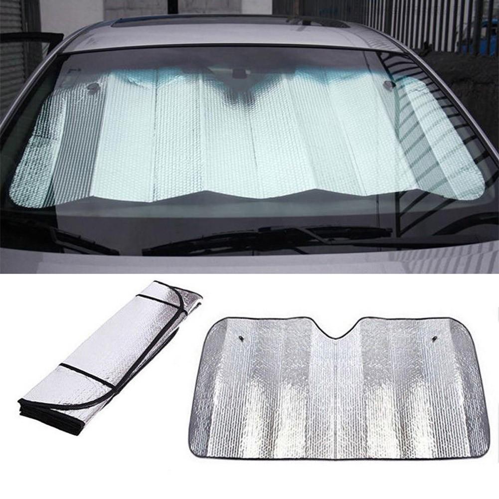 Car Windscreen Sun Shield Shade Windshield Visor Laser Front Rear Window Cover