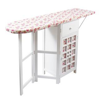 Hl Wicker Baskets Foldable Storage Cabinet Ironing Laundry