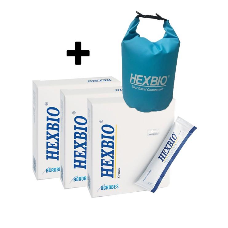 Hexbio Granules 10's / 3 x 10's + free waterproof bag