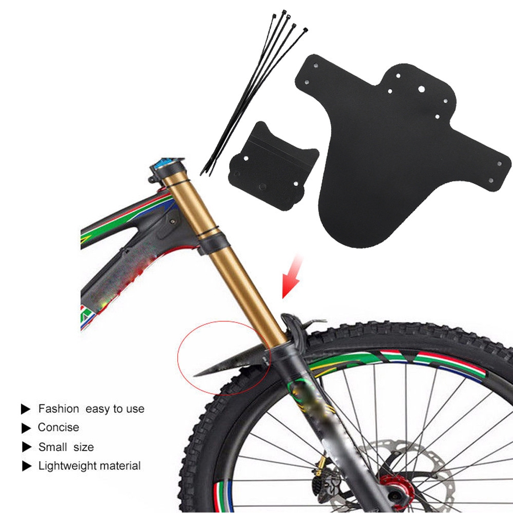1PC Mountain Bike MTB Cycling Tire Front Rear Mudguards Mud Guard Fender Plastic