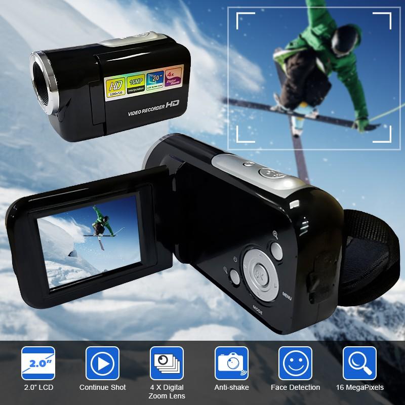 Digital Video Camera Full HD 16 Megapixels 4x Zoom Mini Camcorder DV Camera