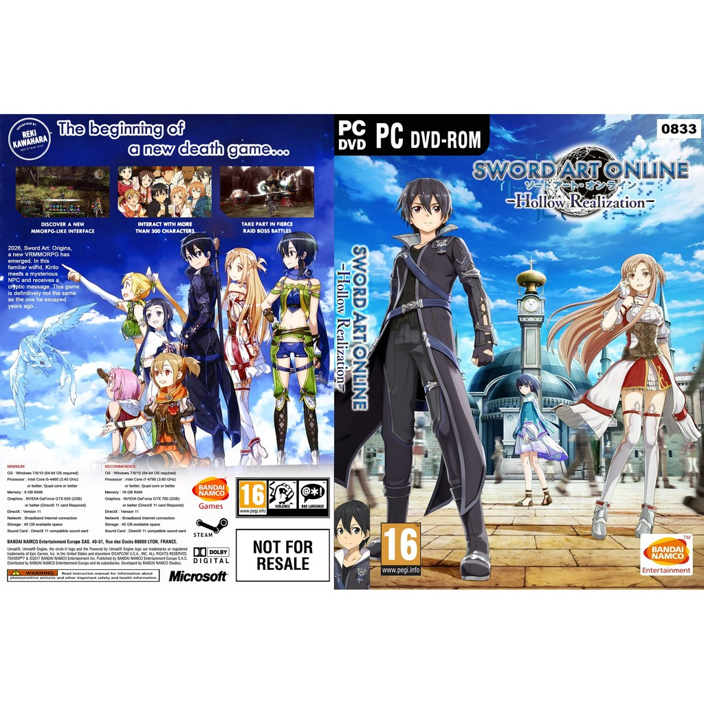 (PC) Sword Art Online: Hollow Realization – Deluxe Edition