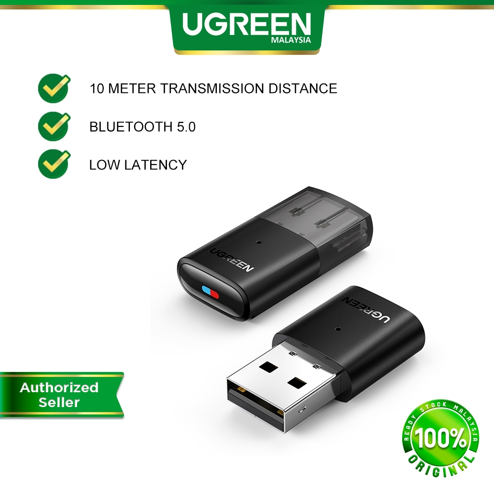 UGREEN USB 2.0 Wireless Bluetooth 5.0 Transmitter BT Receiver for Switch Switch Life PS4 Pro to connect BT TV Mode