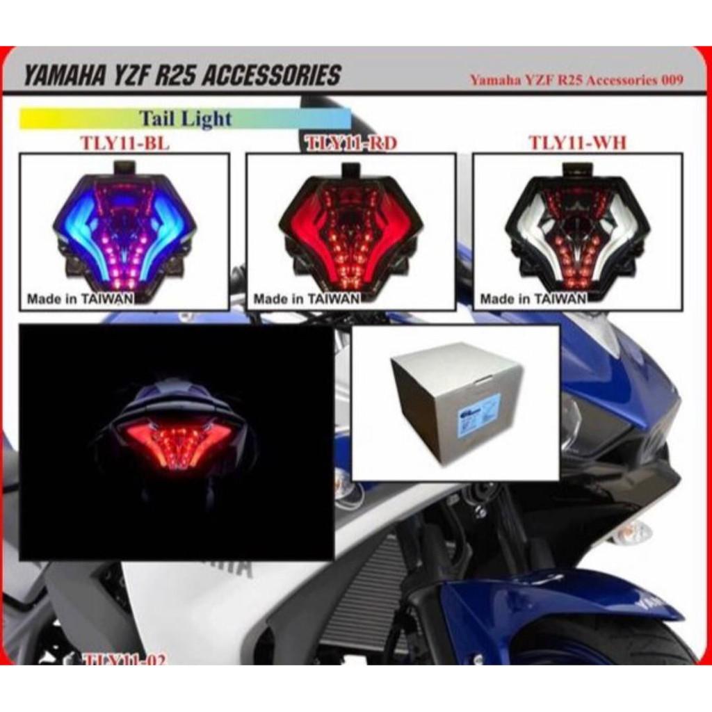 Bulb Led Y15zr: R25 Y15ZR LC150 MT09 TAIL LAMP LED