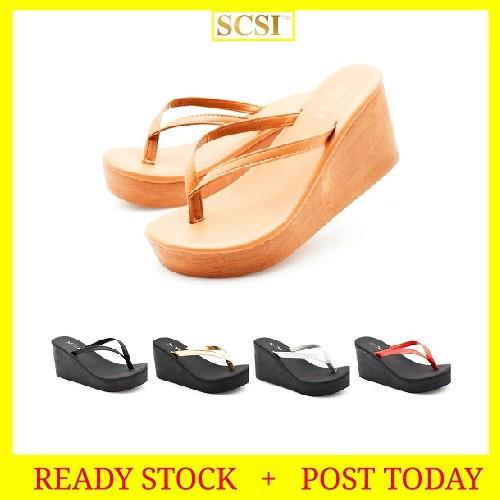 bcaf7addc READY STOCK CASUAL SLIPPER SANDAL SHOES WOMEN LADY BEACH | Shopee Malaysia