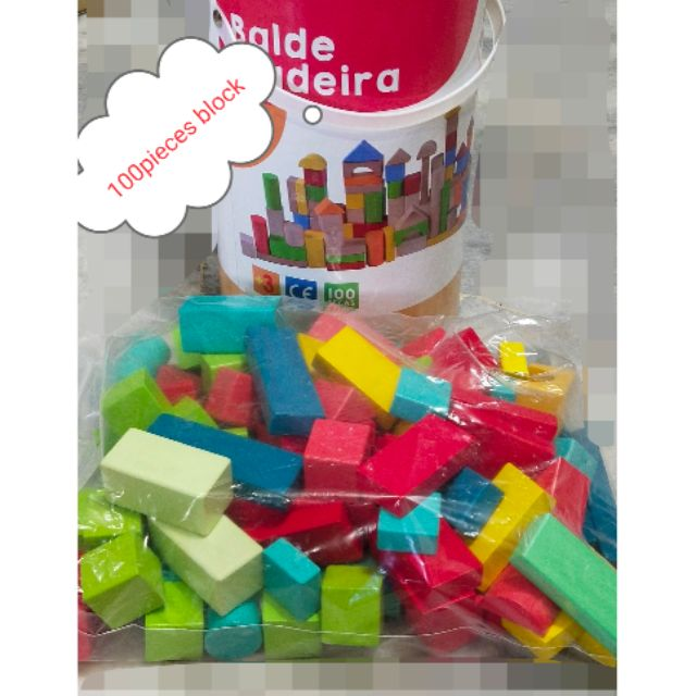 100pieces children building blocks