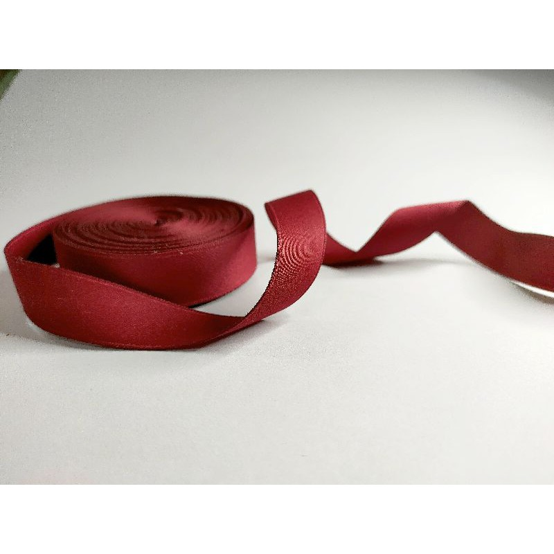 15mm Double-sided matte polyester-cotton ribbon webbing ribbon 15MM韩版双面哑光涤棉带织带彩带