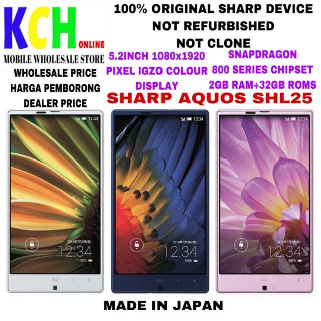 SHARP AQUOS SHL25(2+32GB)(100% ORIGINAL SHARP DEVICE)(PRE-OWNED)