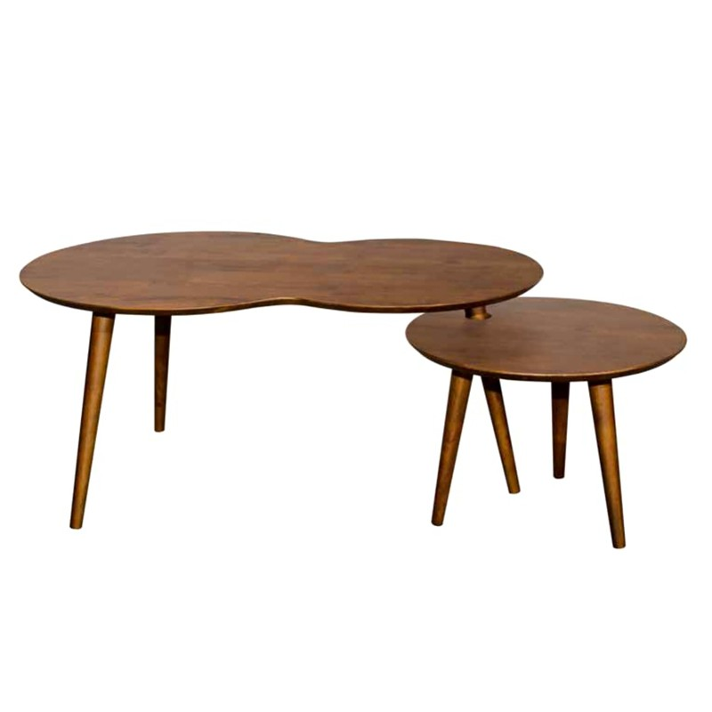 Furniture Direct ROME FULL SOLID WOOD COFFEE TABLE-WALNUT