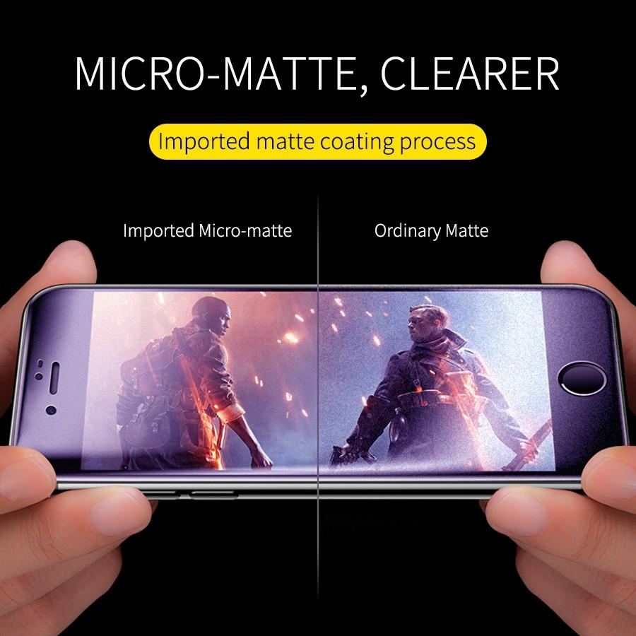 Realme C1/C2/C3/2/2pro/3/3Pro/5/5i/5s/5Pro/6i/6/6Pro/XT/X2/C11/C12/C15 AG Full Screen AntiBlue Matte Glass