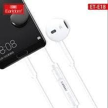 Earldom ET-E18 3.5MM EARPHONE WITH VOLUME CONNECTOR