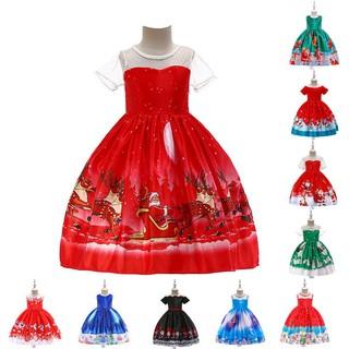 Christmas Princess.Toddler Baby Girl Christmas Princess Kids Baby Girls Santa Dress Clothes