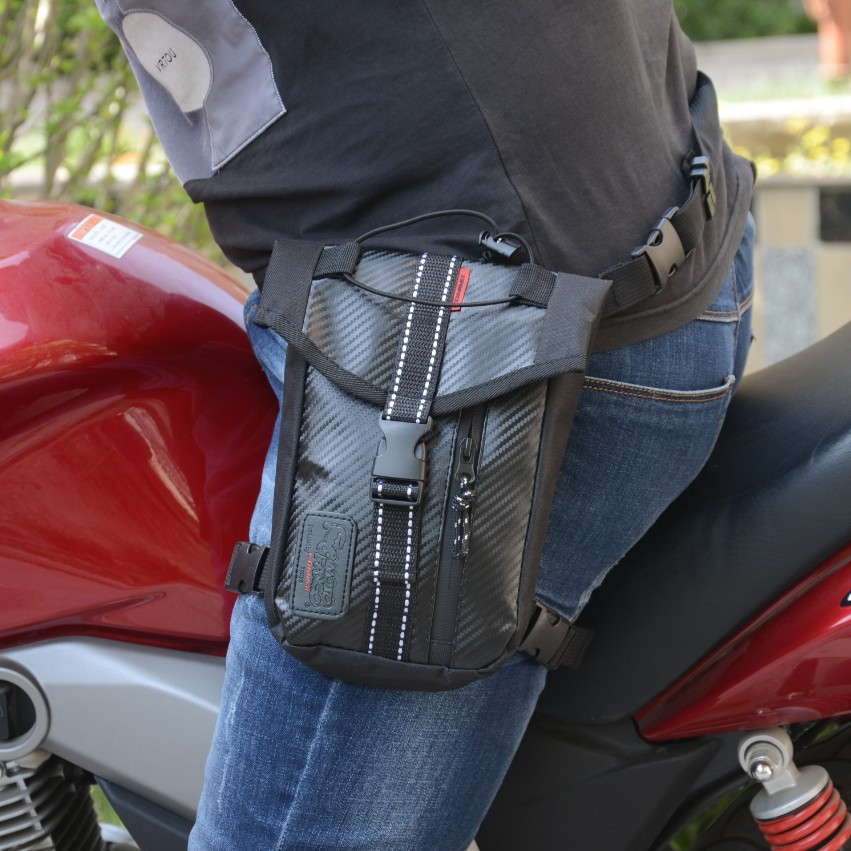 Diligent Wholesale Hot Black Motocross Leg Bag Motorcycle Riding Bag Knight Waist Bag Outdoor Multi-function Bag Bags & Luggage Carrier Systems