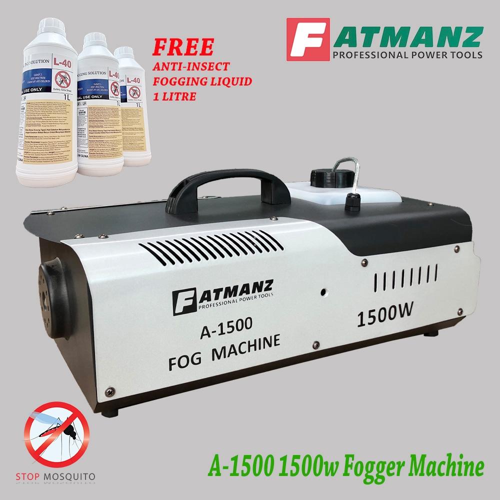 Fogger machine A1500, 1500w FREE ANTI-INSECT L40 fogging liquid 1 litre bottle