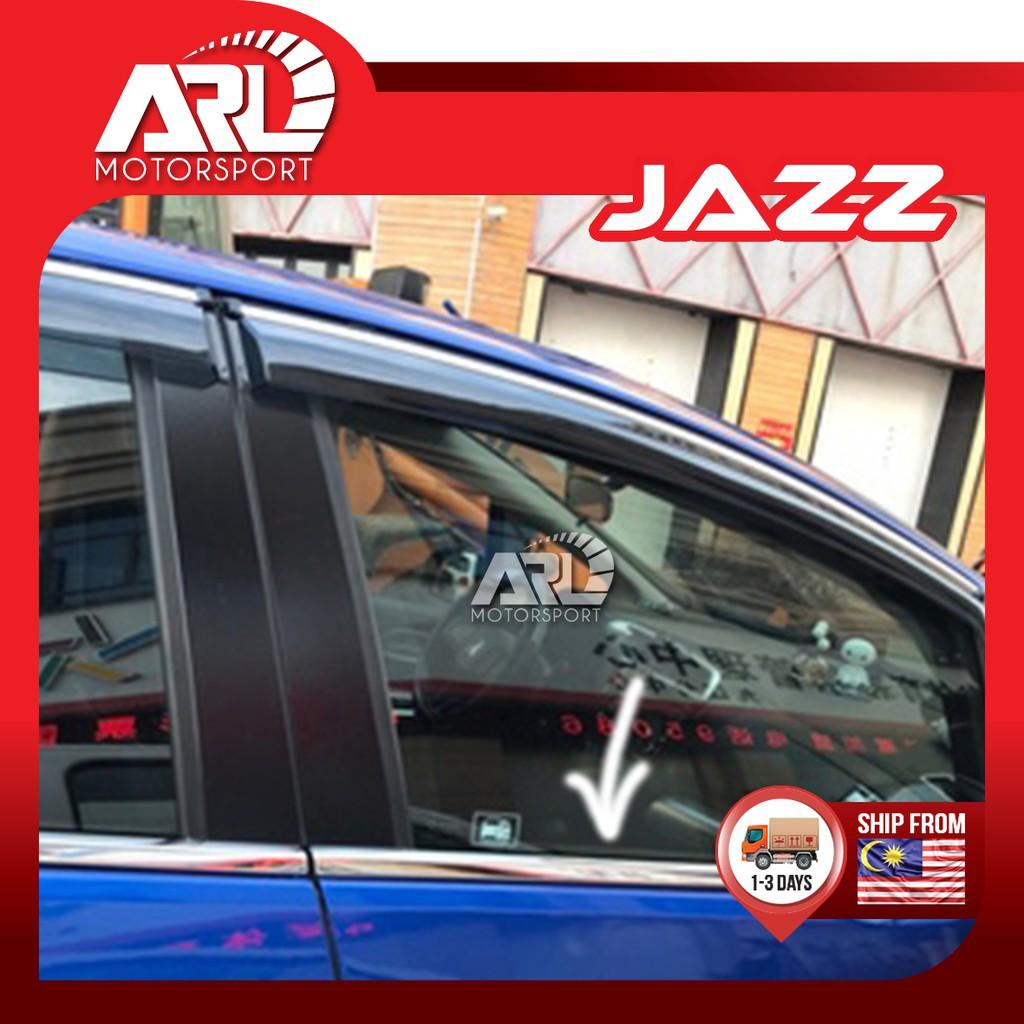 Honda Jazz / Fit (2014 - 2021) IWindow Full Chrome Lining Decoration Car Auto Acccessories ARL Motorsport