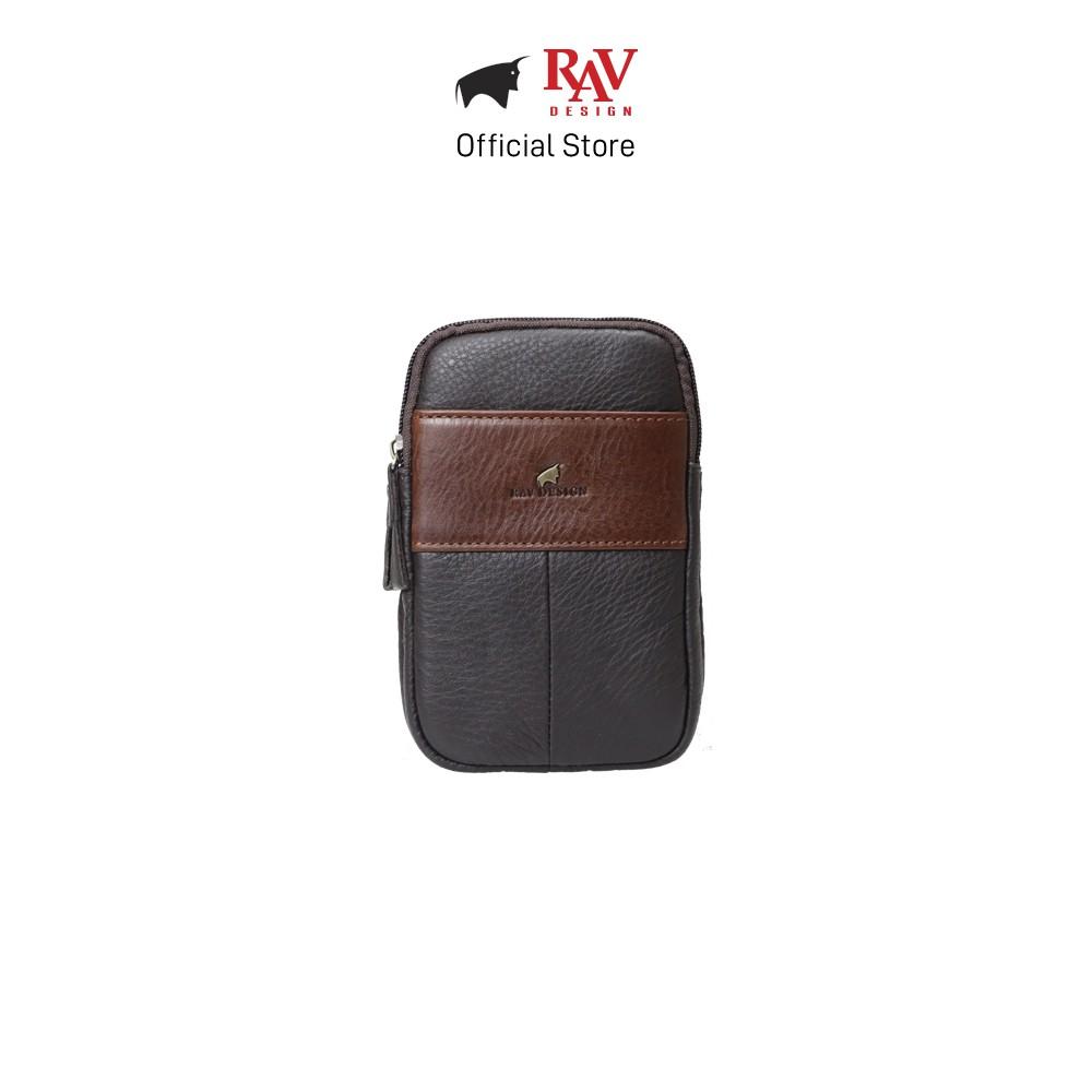 RAV DESIGN Men's Genuine Leather Pouch Sling Bag Series |RVP466 Series