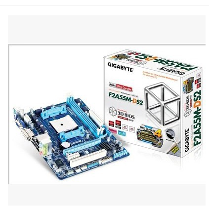 GIGABYTE F2A55M-DS2 Full Solid A55 FM2 Motherboard Support 5