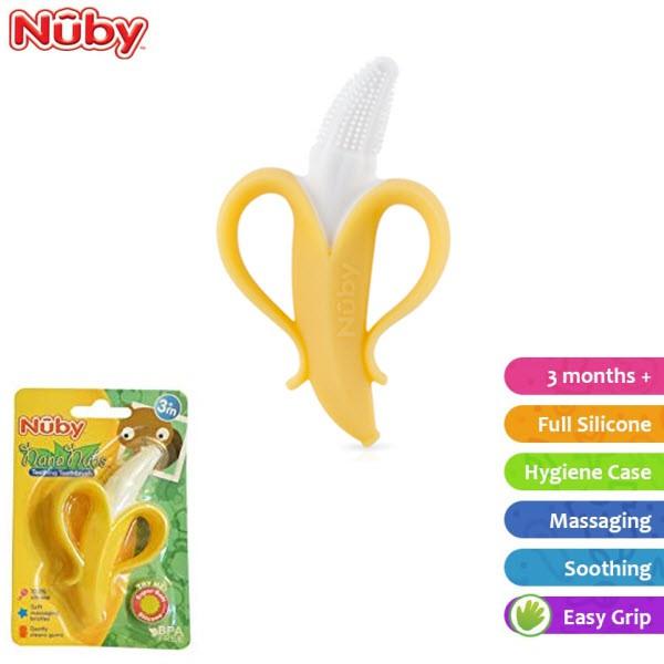 Nuby Nananubs Banana Massaging Toothbrush