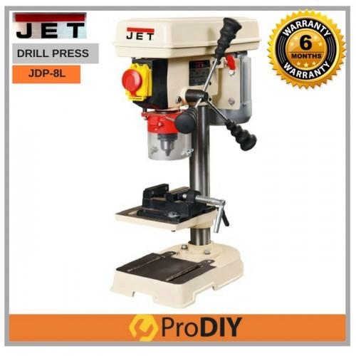 JET JDP-8L Bench Drill Press Drilling Machine 350w 13mm c/w Drill Press Vise