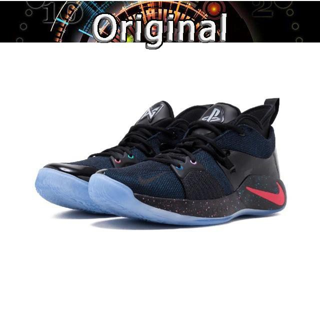 41e1d1f9a26 Nike PG 2 Playstation 2 PS George II basketball shoes AT7815 002 ...