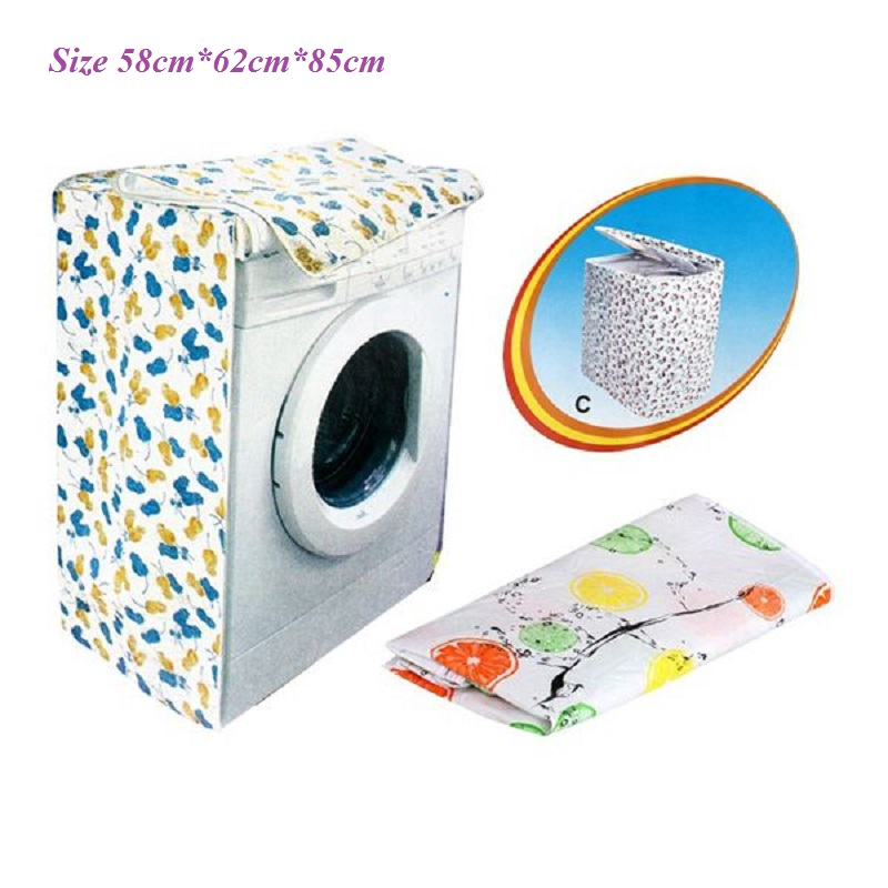 Washer|Dryer Cover For Front-Loading Machine Waterproof Dustproof Thicker