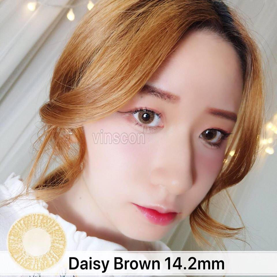 Vinscon Lens Daisy Brown Series 14 2mm Original Shopee Malaysia Daisy's hairstylist demonstrates a hairstyle that is the epitome of chic sophistication.perfect for any classy occasion. vinscon lens daisy brown series 14 2mm original