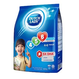 DUTCH LADY 123/456 BIASA (ORIGINAL) / MADU (HONEY) 900gram