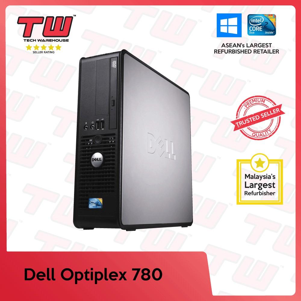 Dell Optiplex 780 Core 2 Duo SFF Desktop PC (Factory Refurbished) + Windows  OS