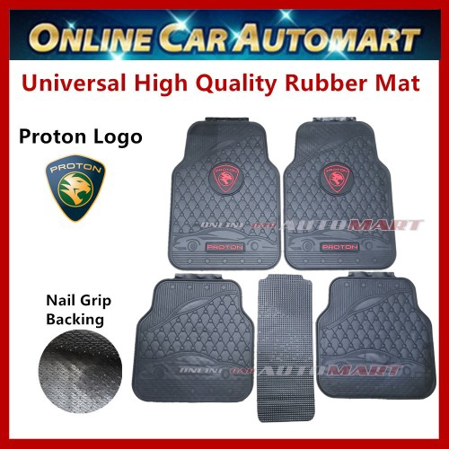 Universal High Quality Rubber Spike Nail Backing With Proton Logo Floor Mat