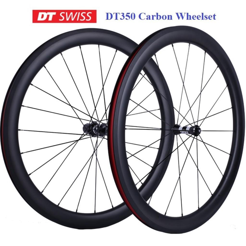 original DT Swiss ratchet DT350 hub custom build carbon wheel set