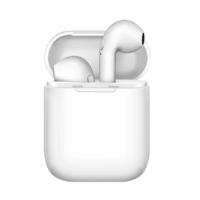 i8 Mini TWS Wireless Bluetooth Headphone Earbuds Iphone Cable