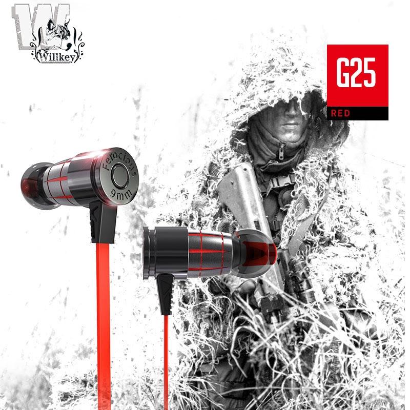 WILL Plextone G25 Bullet Gaming Earphone PUBG/DOTA2/CSGO/ML   Shopee Malaysia