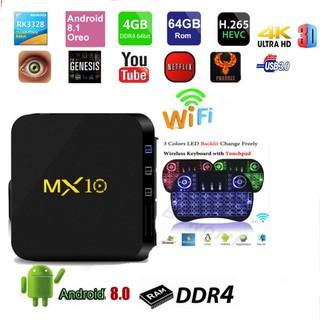 mx10 android box 8.1