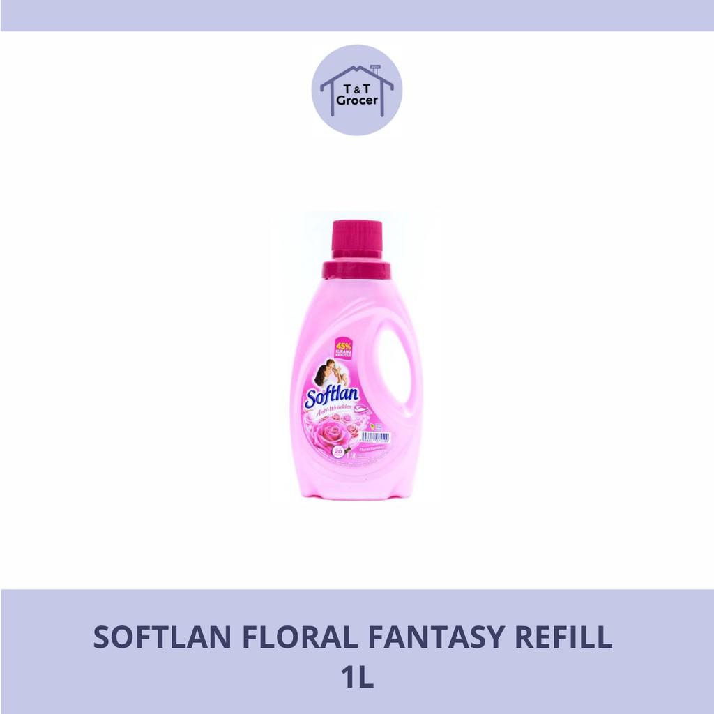 Softlan Refill 1L (Floral Fantasy/ Lavender Fresh/ Spring Fresh)